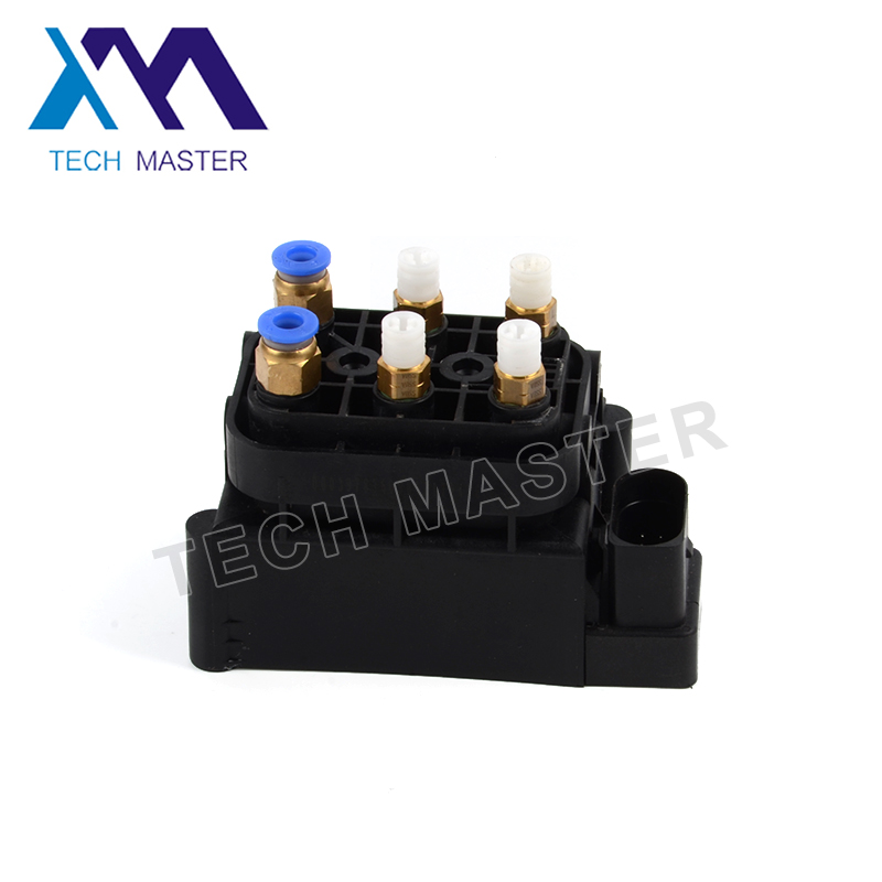 Air Suspension Compressor Plastic Repair Kit for Audi A8 Air Pump Valve Supply Block 4H0616013